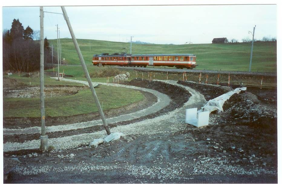 Baustand in der Blatten im Jahr 2001