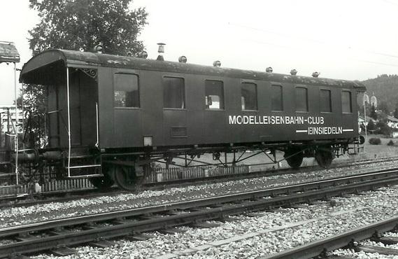 Der erste Clubwagen