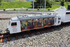 """SOB Re 446 447-5 """"150 Jahre Schweizer Bahnen"""""""