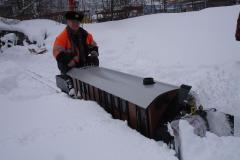 SBB Rotary Xrot d 100 Schneeschleuder
