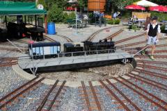 Die Modelle entdecken im Bahnbetriebswerk
