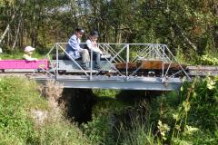 Brücken beim Bahndamm