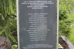 Tafel zu Ehren der Gründungsmitglieder