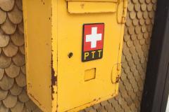 Original Briefkasten der Schweizer Post