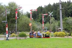 Signalgarten Abteilung Flügelsignale