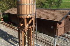 Wasserturm bei Lokschuppen
